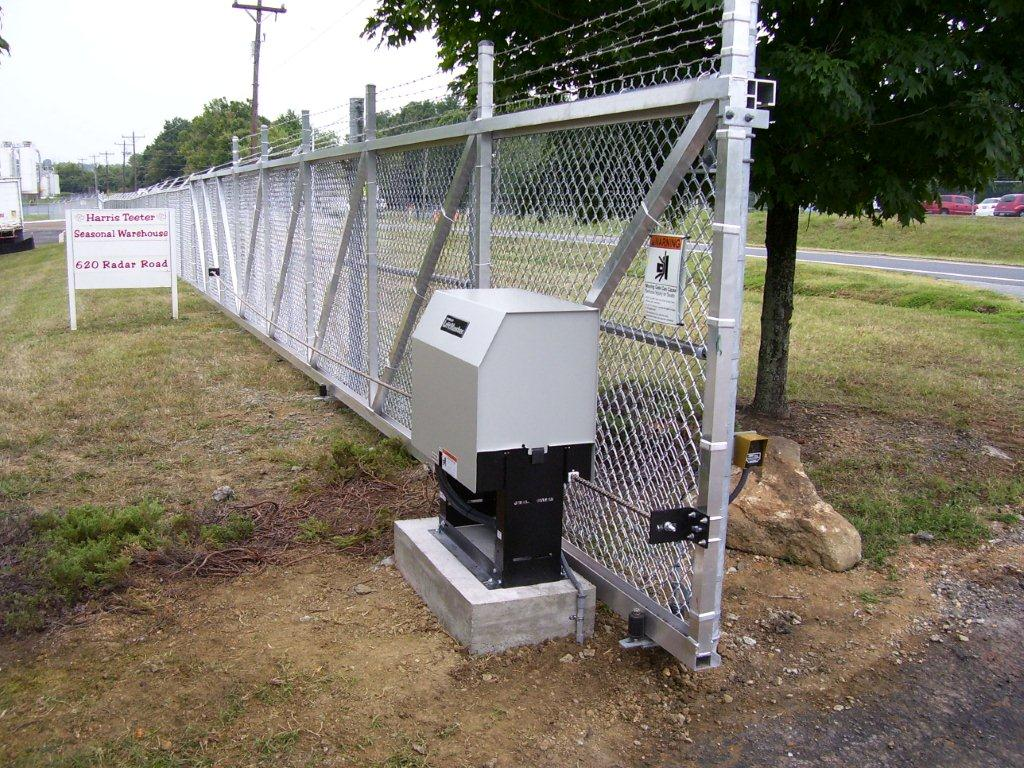 Commercial gate openers
