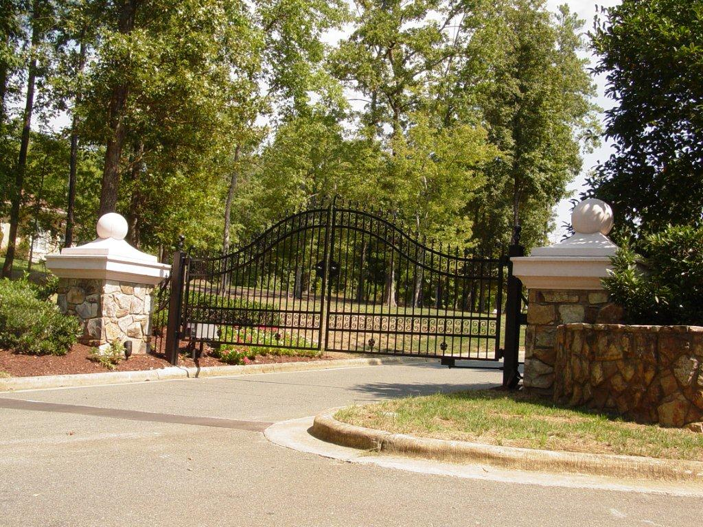 Secure Access Services Raleigh NC swing gate operator installation