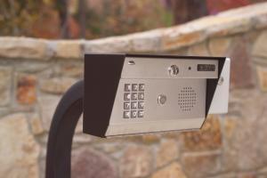 security gate control device