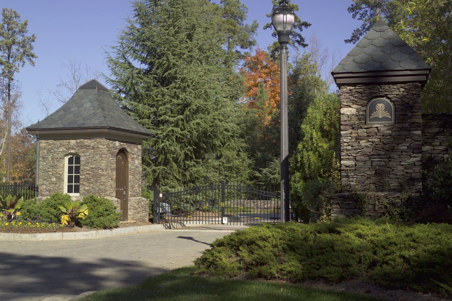 Residential security gate operator installation Raleigh NC by Secure Access Services