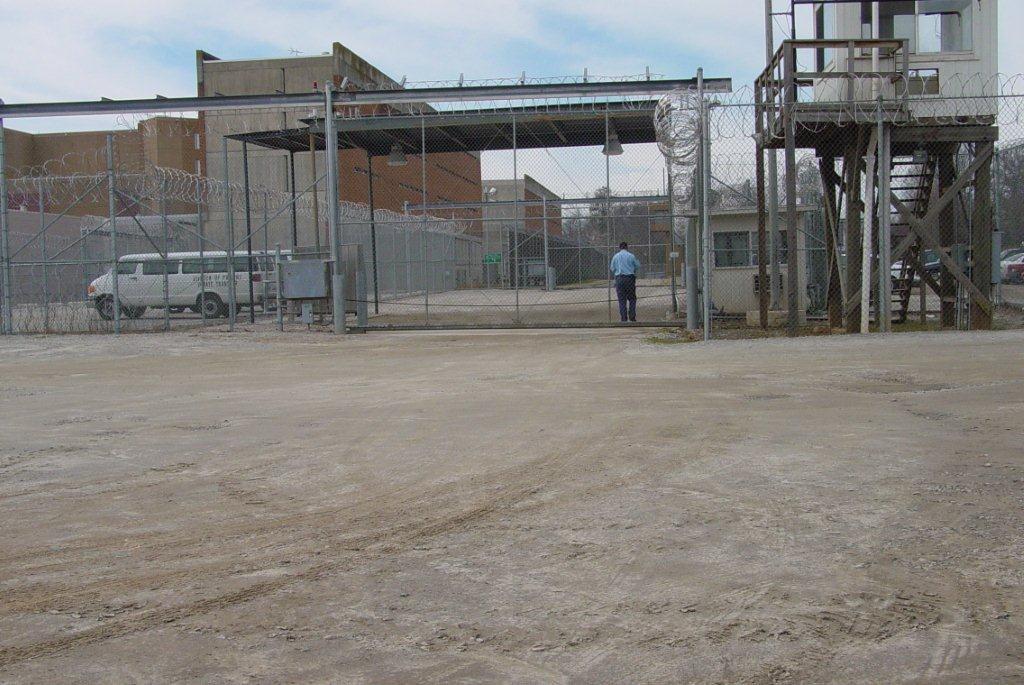 Overhead-slide-gate-Central-Prison-Raleigh