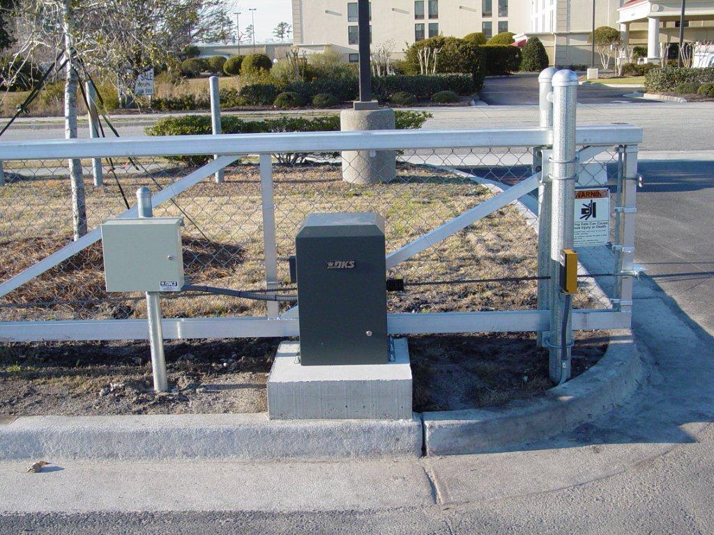 secure-access-services-aluminum-slide-gate-doorking-9150-gate-operator-wrightsville-nc