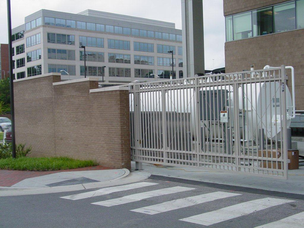 secure-access-services-slide-gates-unc-hospital-chapel-hill-nc